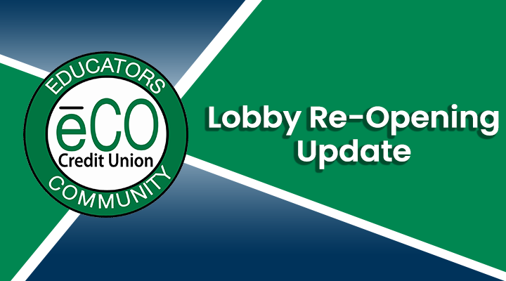 Lobby Re-Opening Update